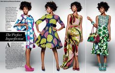 Which one do you like? From the New African Woman magazine. I love the 1st, 3 rd and 4th. Really I would wear all of them!  Http://damioyetade.com/