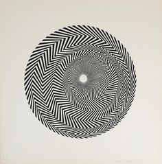 Find the latest shows, biography, and artworks for sale by Bridget Riley. Bridget Riley is an abstract painter who came to prominence in the American Op Art … Victor Vasarely, Art Optical, Optical Illusions, Bridget Riley Op Art, Kinetic Art, Illusion Art, Geometric Art, Artist Art, Illustration