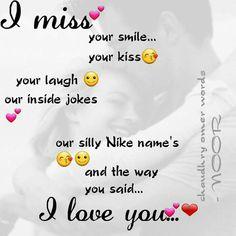 I misss u babu