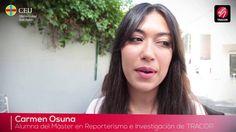 Opinión de los alumnos del Máster en Reporterismo para TV de Tracor tras...