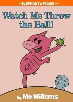 In Watch Me Throw the Ball! Gerald has overly complicated rules that Piggie is too impatient to learn. In the end both characters (and our readers) learn a lesson in a silly and fun way.
