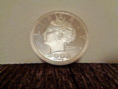 "3 Rounds /""Ben Franklin Half Dollar/"" 1 oz .999 Copper Rounds"