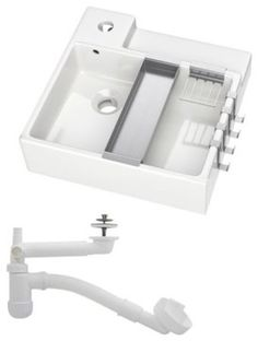 LILLÅNGEN Sink, 1 bowl - modern - Bathroom Sinks - IKEA