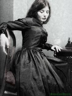 Elizabeth Eleanor Siddal (25 July 1829 – 11 February 1862) was an English artists' model, poet and artist. She was painted and drawn extensively by artists of the Pre-Raphaelite Brotherhood, including Walter Deverell, William Holman Hunt, John Everett Millais (including his notable 1852 painting Ophelia) and her husband, Dante Gabriel Rossetti. She featured prominently in Rossetti's early paintings of women.