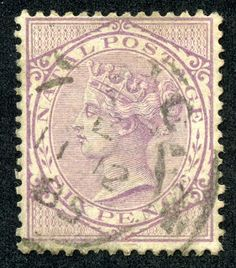 """1870 Scott 38 red """"Queen Victoria"""" Overprinted in Black Quick History Natal was a British crown colony in south-eastern Africa bet. Cape Colony, Crown Colony, Queen Vic, Red Queen, Santa Lucia, Colonial, Union Of South Africa, Kwazulu Natal, New Zealand"""