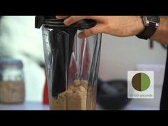 ▶ How to Make Nut Butter in a Vitamix - Honey Roasted Macadamia Nut Butter - YouTube