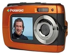 Polaroid IF045-ORNG-BLIS-2 14MP Dual Screen Waterproof Digital Digital Camera with 2.7-Inch LCD (Orange) | My Canon Digital Camera