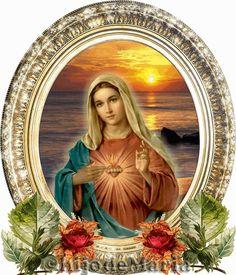 IMAGENES RELIGIOSAS: Inmaculado corazón de María