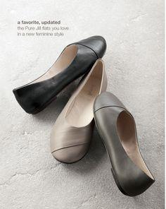 Pure jill ballet flats   www.jjill.com