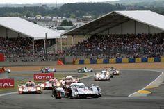 24H Le Mans start 2014