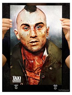Alternative Movie Poster for Taxi Driver by Vlad Rodriguez