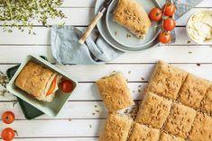 Grovt langpannebrød med yoghurt og solsikkefrø | Oppskrift | Soft Flora