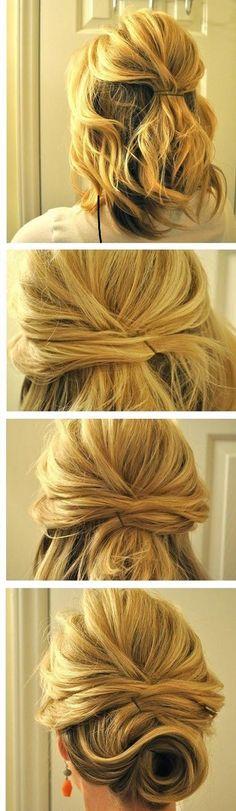 Conseils coiffures faciles à faire sur cheveux longs épais, réaliser une jolie coupe de cheveux simple. Se coiffer rapidement les cheveux raides ou bouclés.