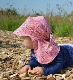 Knitting Patterns For Kids Beautiful headscarf to protect babies and children from a sunstroke - patterns and n . Sewing Baby Clothes, Baby Sewing, Diy Clothes, Sewing Patterns For Kids, Baby Knitting Patterns, Sewing For Kids, Easy Baby Blanket, Little Kid Fashion, Bandanas