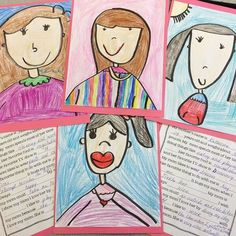 Mother's Day portraits and questionnaires! Easy and adorable keepsakes for mom!: