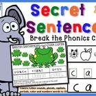This freebie contains pages from the Secret Sentences with Phonics codes Kit. Enjoy these with your class!   The full set is described below:  *   ...