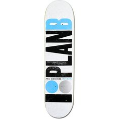 """Keep your ride smooth and extra steezy no matter where you roll on the Plan B P-Rod OG 7.75"""" skateboard deck. The Plan B P-Rod OG 7.75"""" skateboard deck features a custom Paul Rodriguez pro model Plan B logo graphic, a super durable and extra poppy 7-ply construction, and a buttery shape that is perfect for straight merkin' the streets and crushin' the skate parks and training facilities just like P-Rod! Tested and approved by Plan B pro rider and Street League Skateboarding superstar Paul…"""