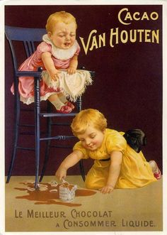 vintage chocolate ads and poster design Pub Vintage, Vintage Labels, Vintage Ephemera, Vintage Cards, Vintage Advertising Posters, Vintage Advertisements, Vintage Posters, Advertising Signs, Images Vintage