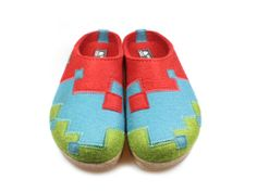 £10 Off Haflinger Grizzly Schach Bordeaux Shoegarden   Haflinger Shoes, Slippers and Clogs.