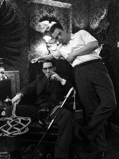 Ronnie Kray and his boy, Teddy Smith. #Legend