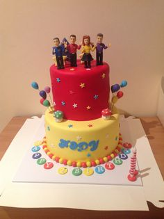 The wiggles cake Cakes by Eb https://www.facebook.com/CakesbyEb