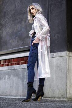 Raincoats We're Obsessed With Baby Raincoat, Girls Raincoat, Vinyl Raincoat, Pvc Raincoat, Plastic Raincoat, Black Sock Boots, Black Socks, Stylish Raincoats, Raincoats For Women
