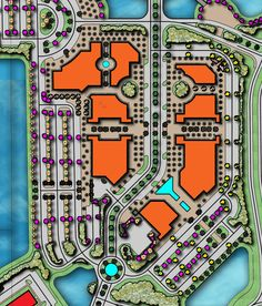 Downtown Shopping complex with office and urban residential units....