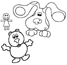 Welcome in Blues Clues Coloring Pages site. In this site you will find a lot of Blues Clues Coloring Pages in many kind of pictures. All of it in this site is free, so you can print them as many as you like. Nick Jr Coloring Pages, Beach Coloring Pages, Coloring Pages For Kids, Coloring Books, Cat Paw Drawing, Wolf Colors, Goldilocks And The Three Bears, Blues Clues, Bear Pictures