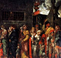 Prisonnniers by @artistmantegna #highrenaissance