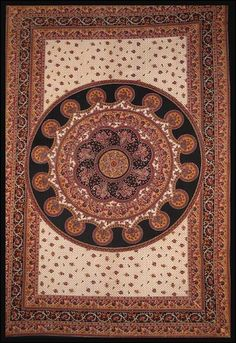 Brown Paisley - Tapestry
