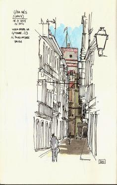 Urban Sketchers Spain. El mundo dibujo a dibujo.: MÍRALA MÍRALA