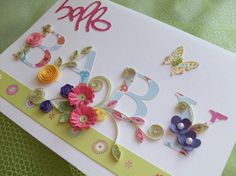 Great baby card