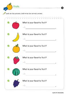 Fruit Worksheets / Activities *Printables* by Worksheet Design Studio Printable Worksheets, Printables, Beginning Sounds, English, Lettering, Activities, Writing, This Or That Questions, Education