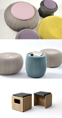 functional pouf pouf design unique decorative decoration design design ...