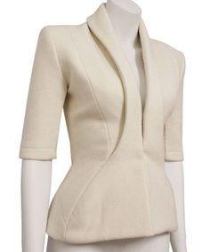 Design Fashion Details, Fashion Design, Tailored Jacket, Blazer Fashion, Jackett, Office Fashion, Look Chic, Mode Inspiration, Blouse Styles