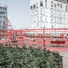 JaJa Architects, Rama Studio, Rasmus Hjortshøj · Park'n'Play