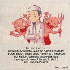 """@kata_nabi . . Diutarakan oleh Hudzaifah Radhiyallhu 'anhu: """"Mula-mula sesuatu yang kamu kehilangan dari agamamu adalah kekhusyu'an. Sedangkan yang terakhirnya adalah sholat. Mungkin seseorang yang mengerjakan shalat tetapi tidak mendapat kebaikan. Hampir-hampir kamu masuk masjid tetapi tidak kamu jumpai orang-orang yang sholat dengan khusyu'."""" . Karena itu agar sholat kita senantiasa khusyu' sering-seringlah berdzikir dan membaca ta'awudz rajin melakukan amalan-amalan sunnah menghindari…"""