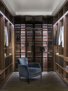 A bespoke Neatsmith dream dressing room. Neatsmith designs and installs bespoke walk in wardrobes, dressing tables and bedroom furniture to create your perfect bedroom. Our wardrobes are made to measure and are completely tailored to your needs. #walkinwardrobes #wardrobes #dressingrooms #home #bedroom #bedroomideas #bedroominteriors #interiors #madetomeasure Walk Through Closet, Walk In Closet, Master Closet, Walk In Wardrobe Design, Wardrobe Furniture, Bedroom Furniture, Closet Lighting, Luxury Closet, Man Room