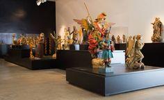 Exposição Patrimônio Recuperado no Museu Mineiro, museografia da Objeto Design.