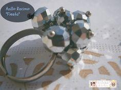 El Baúl de la Mary ♥: DIY: Anillo Racimo