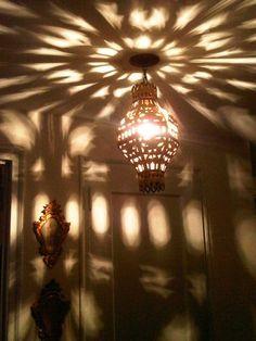 """""""Starry Nights and Lights"""". My hallway tonight."""