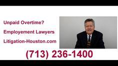Houston Unpaid Overtime Lawyer (713) 236-1400