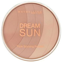Maybelline Bronzing Powder ($7.08) ❤ liked on Polyvore featuring beauty products, makeup, cheek makeup, cheek bronzer, beauty, make, blush, shoes, filler and maybelline