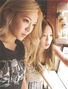 Taeyeon and Hyoyeon