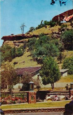 Indian Lookout, Richardson Springs pictured postcard, Butte County, California, 1960's.