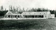 Fort Steilacoom in the 1860s