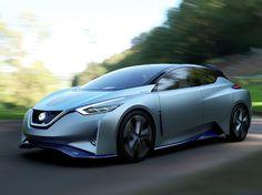 Nissan IDS Concept, eléctrico y autónomo sentando las bases del próximo LEAF - http://www.actualidadmotor.com/nissan-ids-concept-leaf-2017/