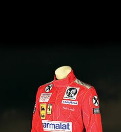 """Auction – Prop Store - Ultimate Movie Collectables - RUSH MOVIE PROPS INCLUDING DANIEL BRUHL'S """"Niki Lauda"""" racing outfit all going on auction June 23.  HOLY. SHIT."""