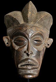 Chokwe Pwo Face Mask (DR Congo)