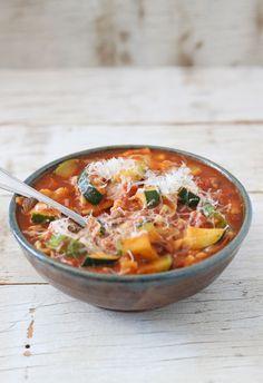 Vegetarian Lasagna Soup - Recipe Runner
